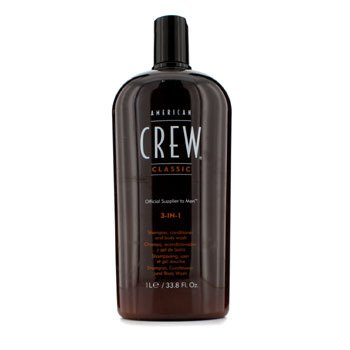 American Crew Men 3-IN-1 Shampoo, Conditioner & Body Wash