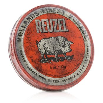 Reuzel Red Pomade (Water Soluble, High Sheen)