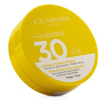 Clarins Mineral Sun Care Compact For Face SPF 30 - Universal Nude Beige