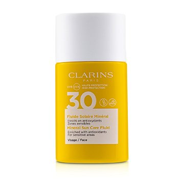 Clarins Mineral Sun Care Fluid For Face SPF 30 - For Sensitive Areas