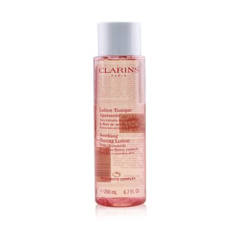 Clarins Soothing Toning Lotion with Chamomile & Saffron Flower Extracts - Very Dry or Sensitive Skin